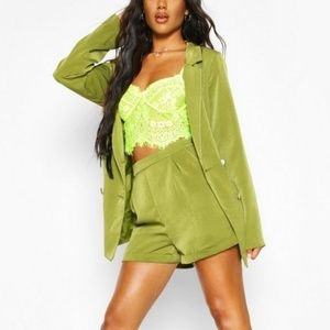 Boohoo - Belted Jacket & Shorts